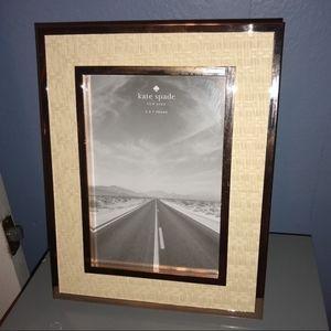 Kate spade 5x7 photo frame